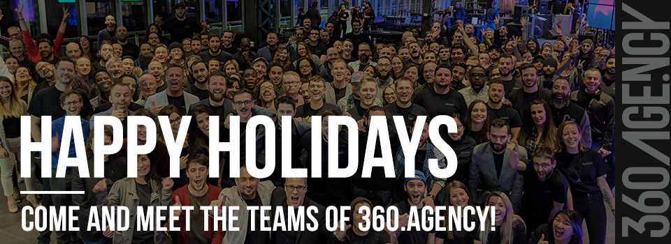 360.Life – All the teams of 360.Agency wish you happy holidays!