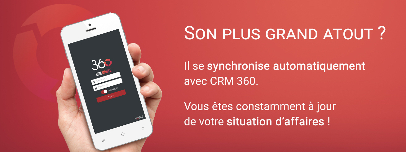 CRM Mobile Synchronisation - 360.Agency