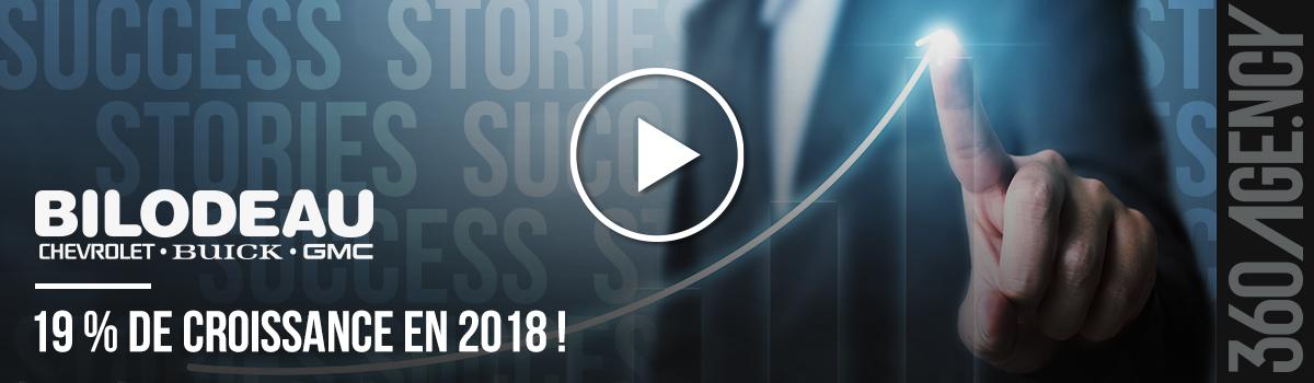 360.Success – Success Story de Bilodeau Autos : 19 % de croissance en 2018 !