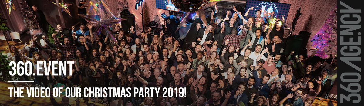 360.Agency celebrates the holiday season - Christmas party 2019