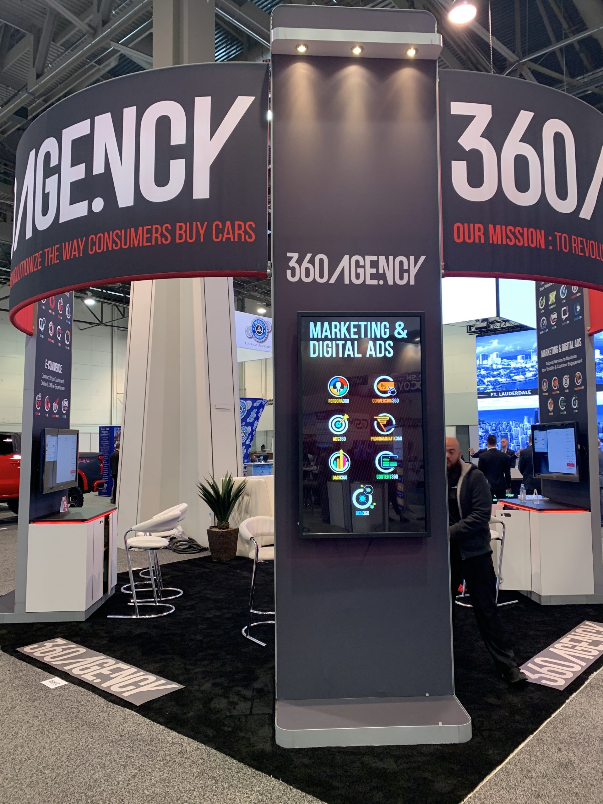 NADA 2020 360.Agency Booth