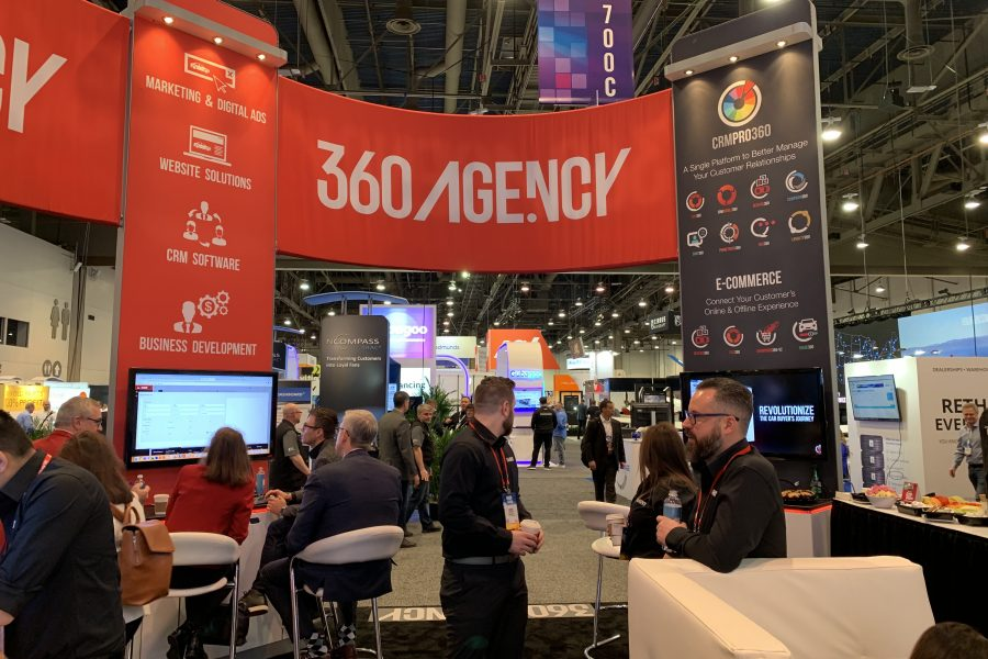 NADA 2020 360.Agency Booth_red side
