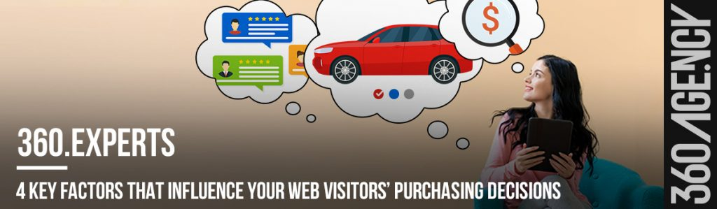 4 Key Factors that Influence Your Web Visitors' Purchasing Decisions