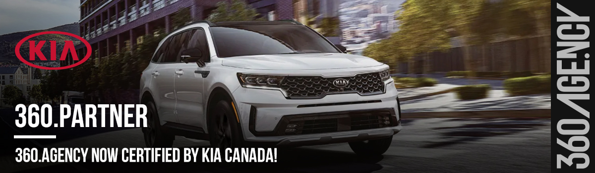 360.agency certified by KIA canada