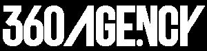 360 Agency Logo in white