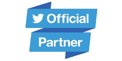 Twitter Official Partner logo