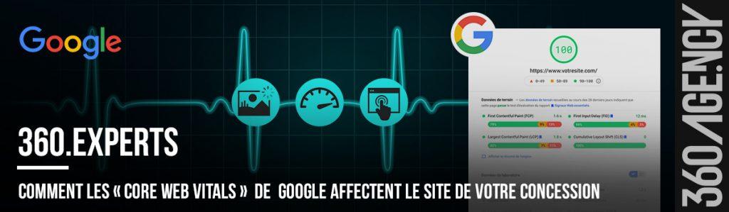 Comment les «Core Web Vitals» de Google affectent le site de votre concession
